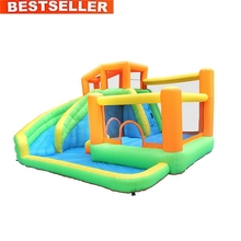 S282B CE Certification New Fashion PVC Tarpaulin Heavy Duty Inflatable Water Slide Manufacturer in China