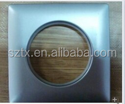 70mm plastic curtain accessories square curtain ring