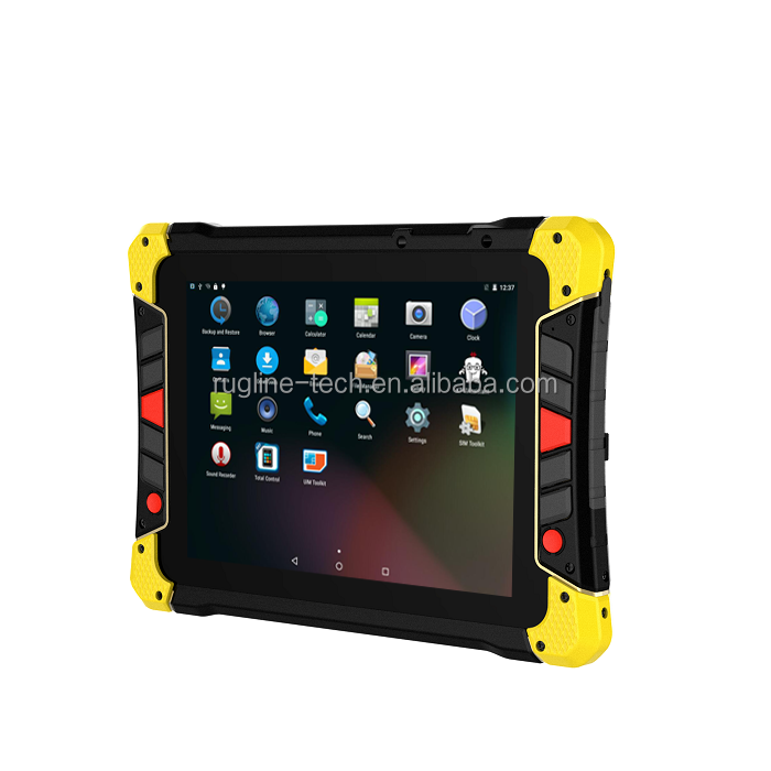 8 inch rugged waterproof outdoor handheld Android Tablets Terminal PDA Data Collection android tablet nfc with SIM