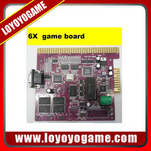 New Arrival multi 6x poker game board slot game plate PCB slot casino pcb board