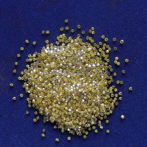 Yellow Rough Industrial Diamond For Sale