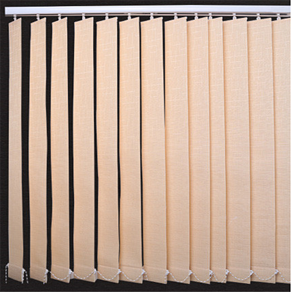 Polyester fiber Lithe Provincial space remote control vertical blinds