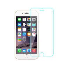 Wholesale high quality mobile phone 0.33mm 2.5D 9H tempered glass for iphone 6 6s tempered glass screen protector