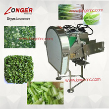 Green leek cutter|shallot cutting machine|Chinese chives cutting machine|Blanched garlic leaves chopping machine
