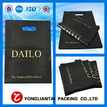 Full color printing plastic laminated custom made shopping bags with logo print
