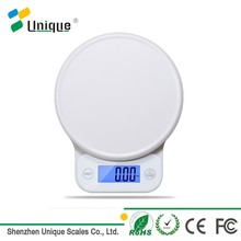 5kg digital electronic bluetooth kitchen and food balance scale with tare function
