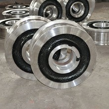 Hot selling customized forged train wheels parts with free design drawing