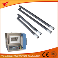 China Hi-Temp Products Supplier G(gun) Type SiC Silicon Carbide Ceramic Heater Element for Sale
