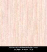 cheap sliced cut engineered apricot timber wood veneer made from log for interior doors