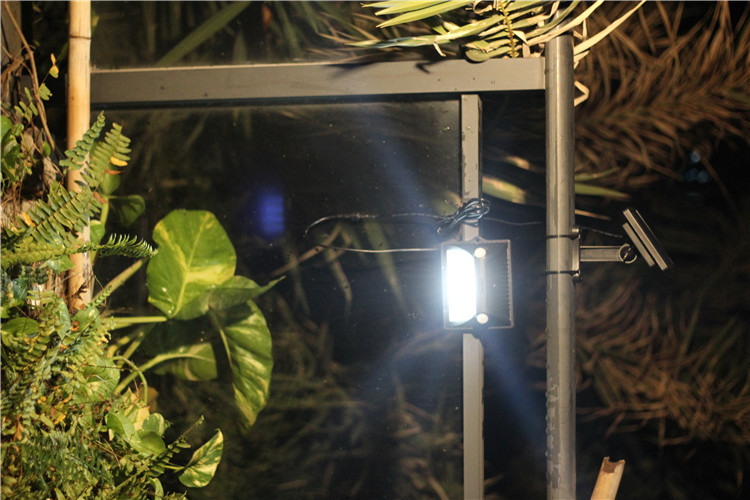 solar camping light , Wireless Motion Sensor Solar Lights with Wide Lighting Area,