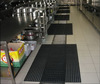 textured surface acoustic rubber mats
