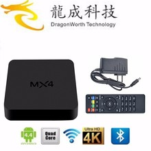 Factory accept OEM MX4 RK3229 Quad core 1G/8G 4k*2K IPTV XBMC Android 4.4 smart tv box HD tv box MX3