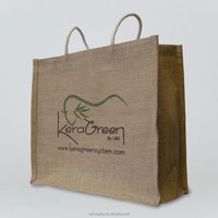 Custom Eco-Friendly Tote Wine Jute Shopping Bag 100kg