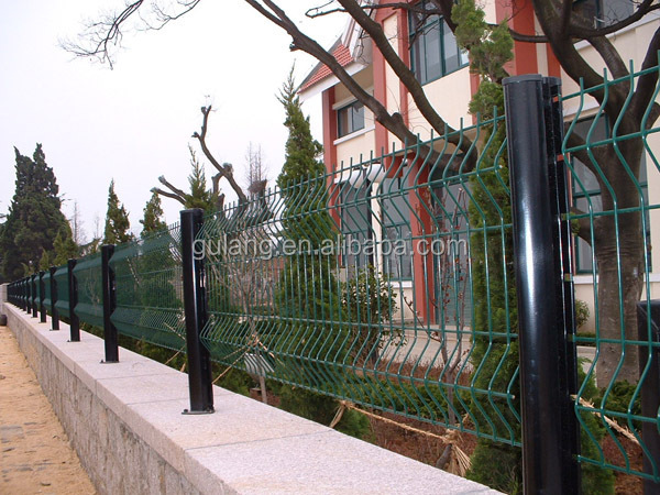 Galvanized Coated Border Green Garden Wire Mesh Fence Buy Coated Border Gre