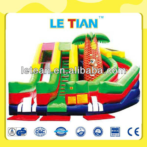 giant inflatable water slide for sale LT-2136C