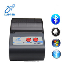 Portable mini Bluetooth 58mm Thermal Bill 2inch Printer support Android tablet