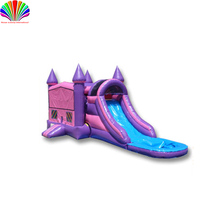 party slide combo Kids Inflatable Bouncer Slide Jump Game - Commercial Bounce House Inflatable Water Slide