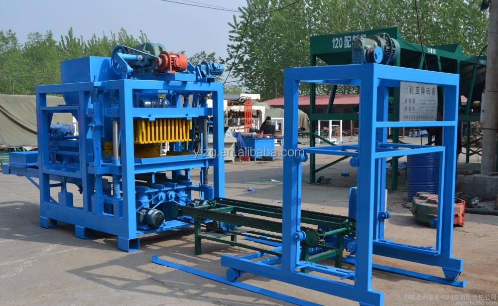 Concrete hollow block machine in philippines with low price