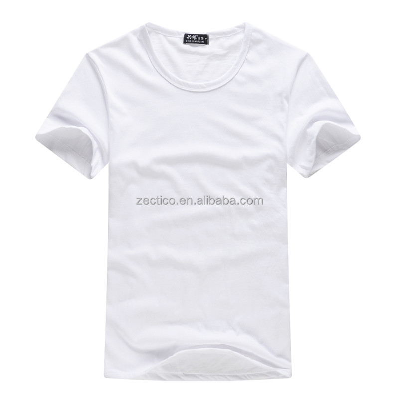 100% cotton plain t shirt hot-selling 1 dollar blank t shirt for promotion election