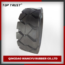 TOP TRUST made press-on 18*7-8 forklift solid tire