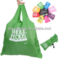 190T polyester foldable bag(NV-F165)