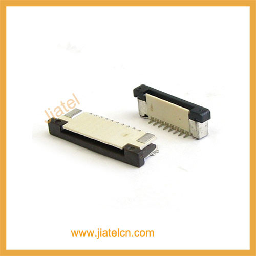 0.5mm 0.8mm 1.0mm 1.25mm Pitch ZIF Lcd Panel Display Connector FPC Connector