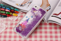 High quality Christmas beautiful gift floating liquid cell phone case for iphone 6 made in china