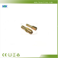 High quality motorcycle part,CNC machining lathe precision parts brass terminal blocks OEM