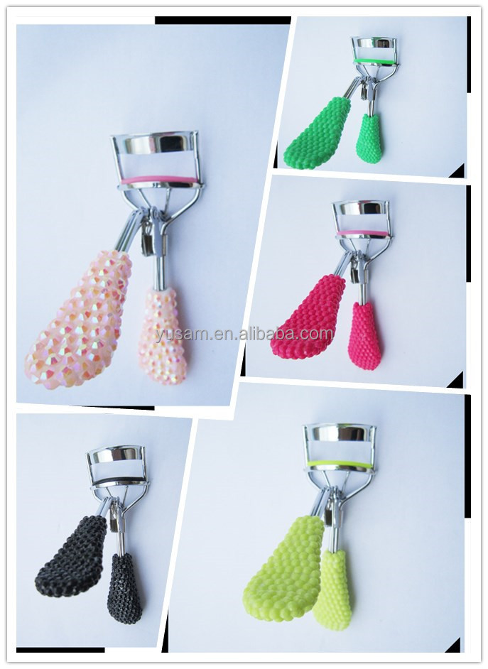 2016 Newest 5 colors Fashionable cheap plastic eyelash curler