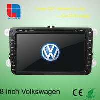 8 inch car gps for vw golf with 3D Rotating UI PIP GPS BT TV IPOD RADIO 3G WIFI