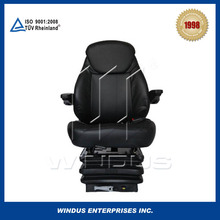 Comfortable and safety air suspension truck driver seats