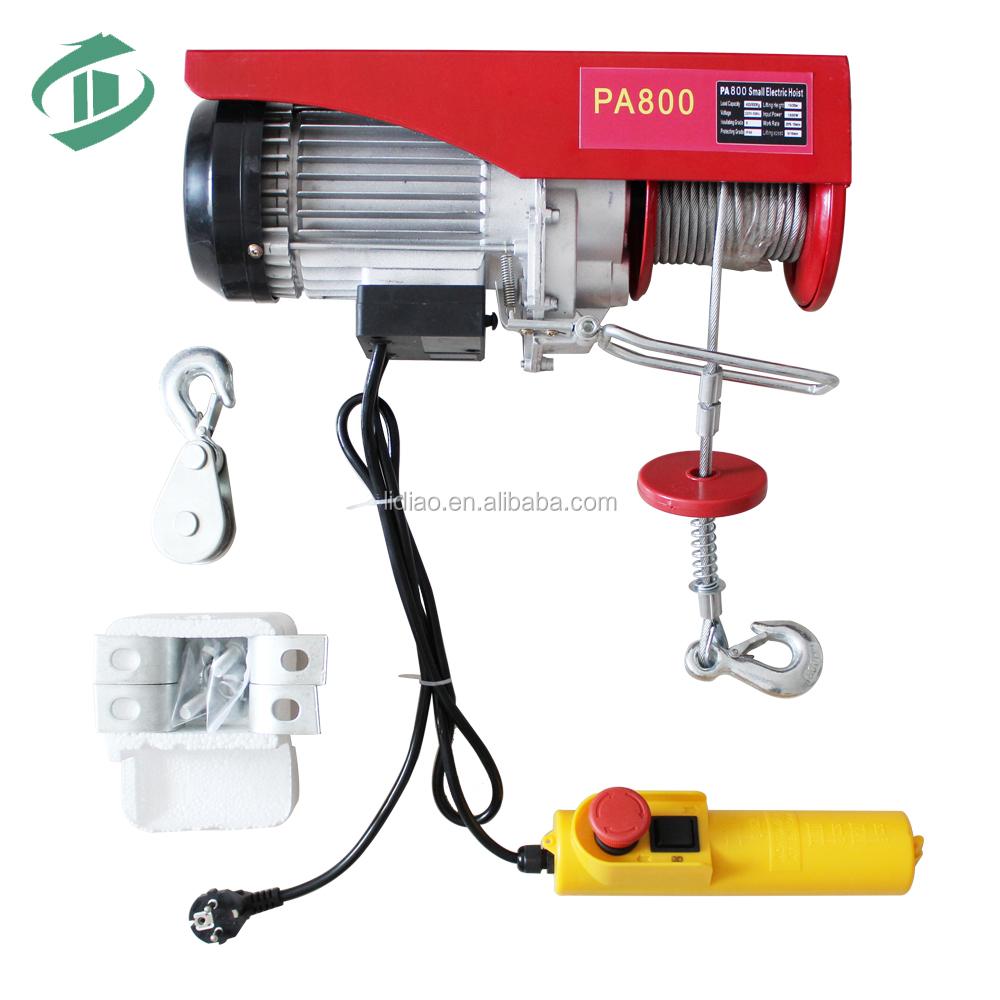 Pa mini paranco elettrico con telecomando senza fili f21 for Paranco elettrico telecomando senza fili