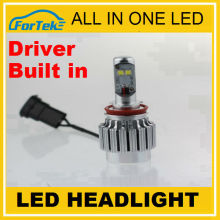 Sold to Euro America! All in one cree car h4 led headlight bulbs