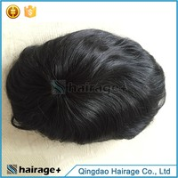 Best Quality Full Cuticle Men Long Hair Wig