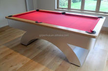Natural slate solid wood 9ft used Arc pool table for sale
