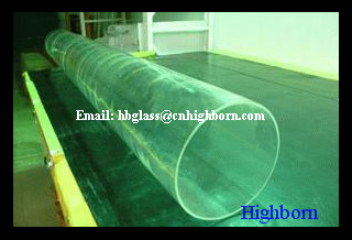 large diameter quartz tube For Mercury Lamp