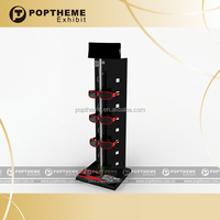 Newest acrylic lockable countertop display case,acrylic sunglass display stand
