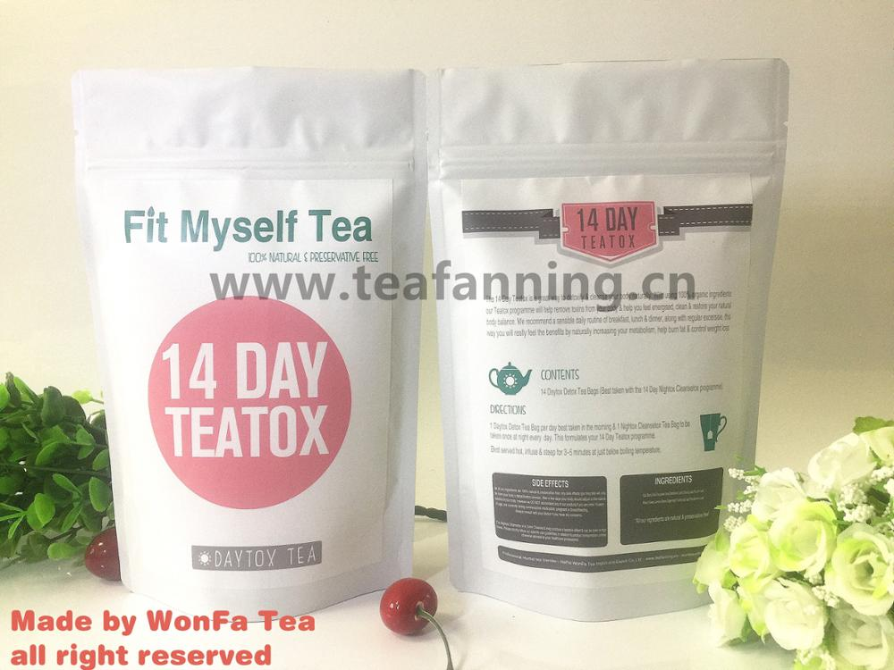 14day and 28day slimming tea and food diet for body weight loss with customized service