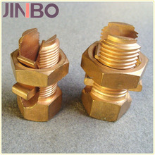 Brass Connector Bolt Electrical Split Bolt Clamp Connector