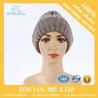 2016 custom promotional bright color fine knit party hat free patterns custom beanie hat