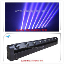 LED Bar Beam 8*10w rgbw 4in1 moving head flex beam k8