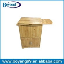 garden wooden ice cooler box