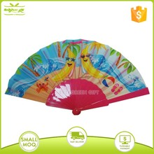 Promotional Custom Painting Plastic Hand Fans