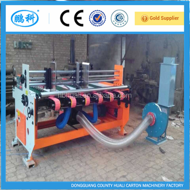 YMK corrugated carton flexo printing slotting machine / automatic corrugated box making machine