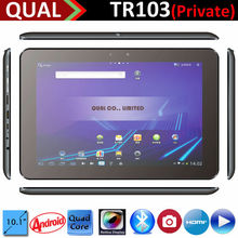 10.1 inch RK3188 touch android tablet 1G DDR 0.3MP/2.0MP IPS 1280*800 display Built-in Bluetooth 4.0 HDMI GPS android 4.4 B