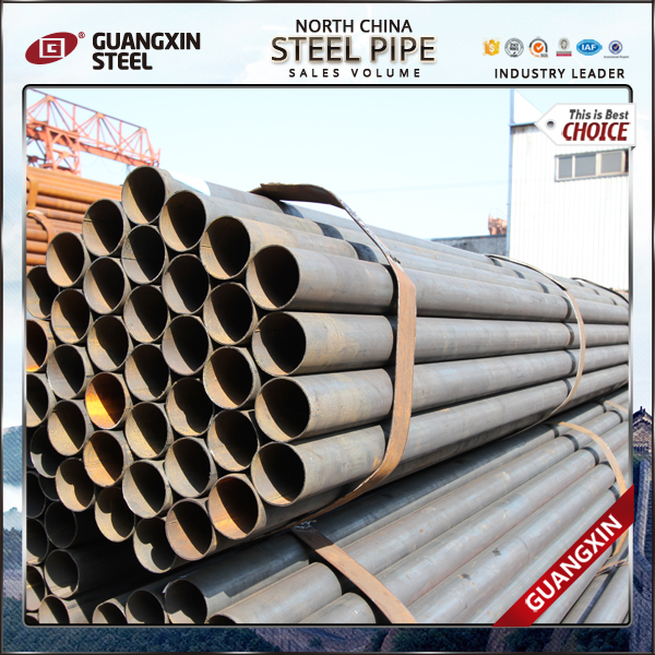 specification price list of manufacturer ms erw carbon black steel pipe