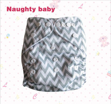 Naughty baby one size boy girl pocket cloth diaper Eco-friendly washable sleepy cloth diaper nappy cover