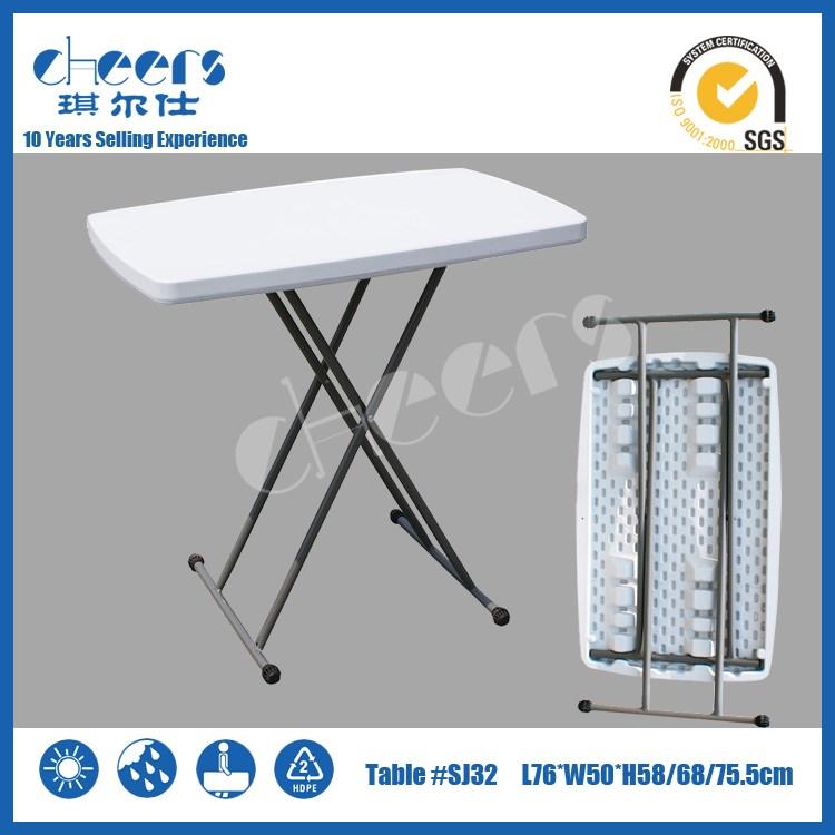 HDPE Kids Study Table Plastic personal table and chairs folding Tables