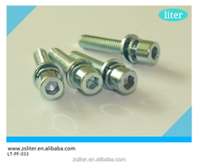 non-standard hexagon socket head cap screw with washer