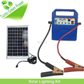 10w Motorhome Solar Panel Kit with Car Charger and LED light for Emergency Use